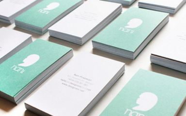 龍雲堂印房 浜松市中区 名刺印刷 高品質 データ入稿